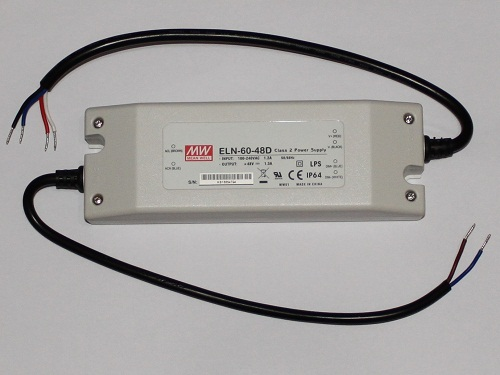 Driver LED DIMMABLE MeanWell ELN-60-48D